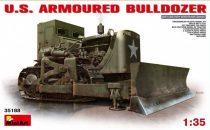 MiniArt U.S. Armoured Buldozer makett