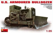 MiniArt U.S. Armoured Buldozer makett