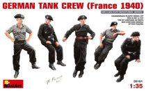 MiniArt German Tank Crew (France 1940)