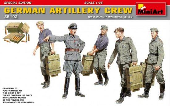 MiniArt German Artillery Crew