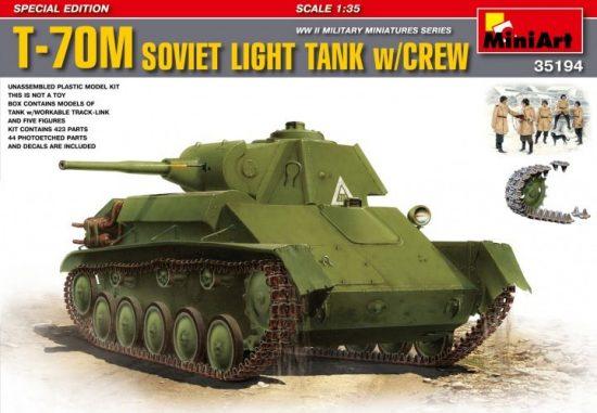 MiniArt T-70M Special Edition makett