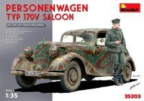 MiniArt Personenwagen Typ 170V Saloon makett