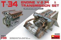 MiniArt T-34 Engine(V-2-34) & Transmission Set