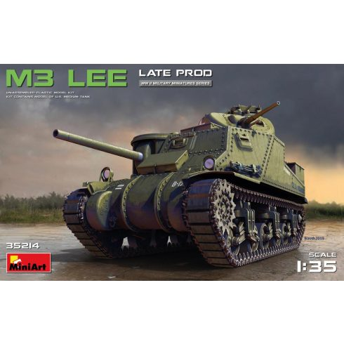 MiniArt M3 Lee Late Prod. makett