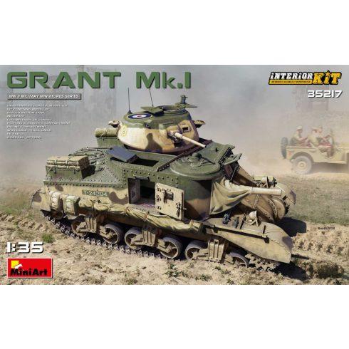 MiniArt GRANT Mk.I INTERIOR KIT makett