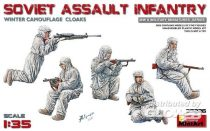 MiniArt Soviet Assault Infantry (Winter Camouflag Cloaks)