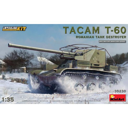 MiniArt Tacam T-60 Romanian Tank Destroyer - Interior Kit makett