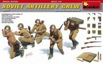 MiniArt Soviet Artillery Crew Special Edition