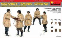 MiniArt Soviet Tank Crew (Winter Uniforms) Special Edition