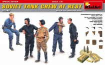 MiniArt Soviet Tank Crew at Rest