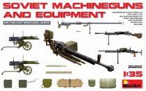 MiniArt Soviet Machine Guns & Equipment