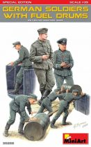 MiniArt German Soldiers with Fuel Drums Special Edition