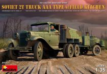 MiniArt Soviet 2t Truck AAA Type w/Field Kitche makett