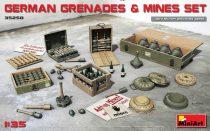 MiniArt GERMAN GRENADES & MINES SET