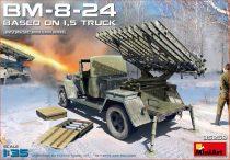 MiniArt BM-8-24 Based on 1,5t Truck makett