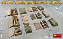 MiniArt Soviet Ammo Boxes w/Shells