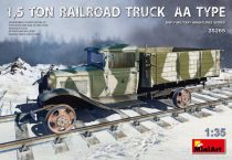 MiniArt 1,5 TON RAILROAD TRUCK AA TYPE makett