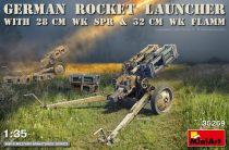 Miniart ROCKET LAUNCHER with 28cm WK Spr & 32cm WK Flamm makett