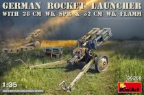 Miniart ROCKET LAUNCHER with 28cm WK Spr & 32cm WK Flamm makett