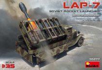 MiniArt SOVIET ROCKET LAUNCHER LAP-7 makett