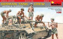"MiniArt GERMAN TANK CREW ""Afrika Korps"" SPECIAL EDITION"