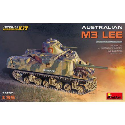 MiniArt Australian M3 Lee. Interior Kit makett