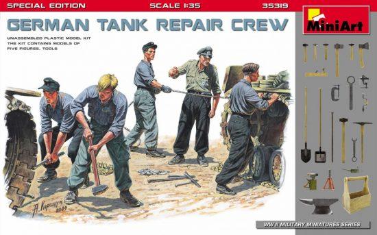 MiniArt German Tank Repair Crew - Special Edition