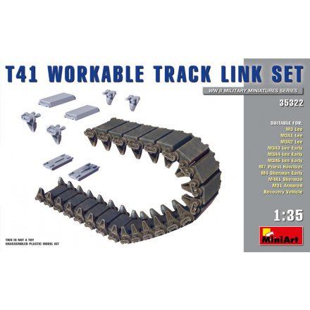 MiniArt T41 WORKABLE TRACK LINK SET