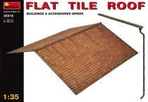 MiniArt Flat tile roof