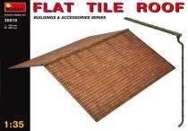 MiniArt Flat tile roof