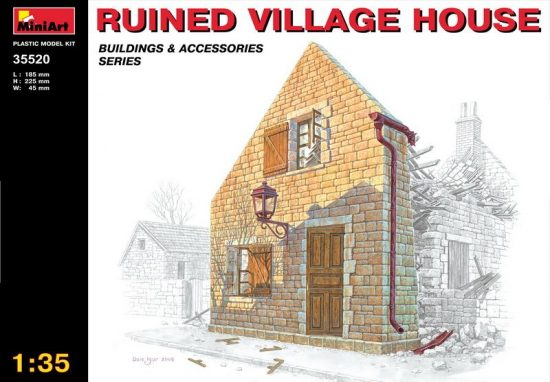 MiniArt Ruined Village House