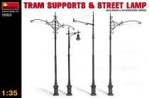 MiniArt Tram Supports & Street Lamps