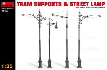 MiniArt Tram Supports & Street Lamps