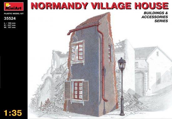 MiniArt Normandy Village House