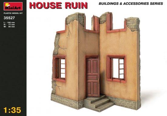 MiniArt House Ruin