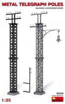 MiniArt Metal telegrah poles