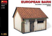 MiniArt European Barn