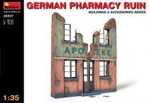 MiniArt German Pharmacy Ruin