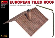 MiniArt European tiled roof