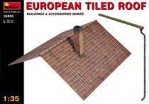 MiniArt European tiled roof