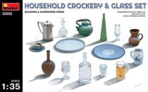 MiniArt Milk Household Crockery & Glass Set