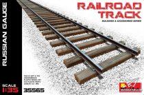 MiniArt Railroad Track (Russian Gauge) makett