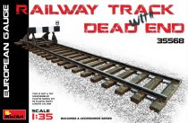 MiniArt Railway Track & Dead End(European Gauge) makett