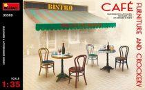 MiniArt Café Furniture & Crockery