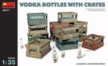 MiniArt Vodka Bottles with Crates