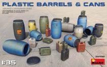 MiniArt Plastic Barrels & Cans