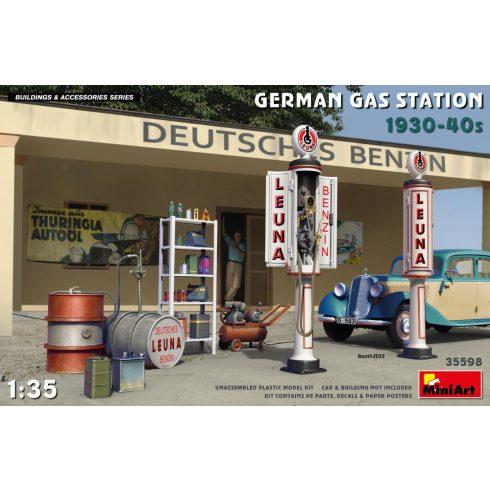 MiniArt GERMAN GAS STATION 1930-40s