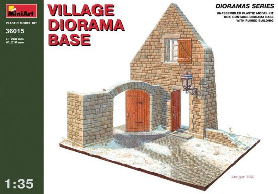 MiniArt Village Diorama Base