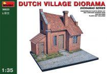 MiniArt Dutch village diorama