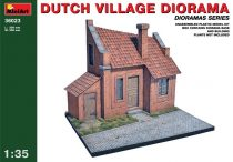 MiniArt Dutch village diorama